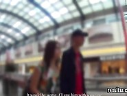 Beautiful Czech Teenie Gets Teased In The Mall And Shagged In