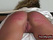Euro Big Booty Whore Gets Tied Up And Spanked So Well