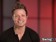 Amateur Swingers Reality Show Foursome Massage Video