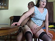 Chubby Mature Lady In Black Stockings Emilia Loves To Ride The Y