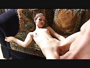 Skinny Teen Gets Her Pink Pussy Creamed