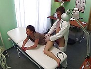 Hot Brunette Edita Goes To The Hospital For A Full Health Check.