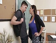 Milf Teacher Fucks Her Student For His Bad Grade