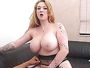 Super Thick Blonde With A Fantastic Fat Ass Goes Black