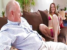 Teen Slut Fucks Friends Dad