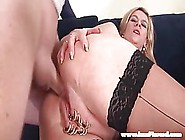 Kinky Blonde Milf With Heavily Piersed Pussy,  Marina Is Getting