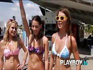Playboy Hot Busty Girls Doing Wild Stunts‎.