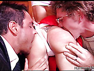 Two Guys Seduce Student Girl And Double Penetrate Her