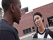 Teen Brooklyn Fucks Huge Black Cock