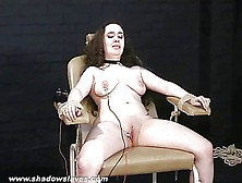 Merciless Electro Torture Of Chubby Nimue Allen In Crying