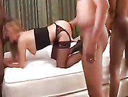Slut Wife Joy Fucked Hard Interracial Gangbang