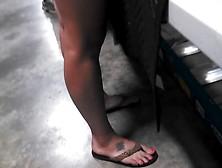 Hot Legs In Flip Flops 2