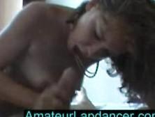 Czech Amateur Karolina - Lapdance For Cumshoot