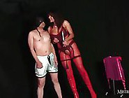 Dirty Crossdresser Dressed Up And Anal Fucked Hard In Ass By Mis