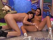 Teen Girls Pissing On Each Other Hairy Kim And Trimmed Janet