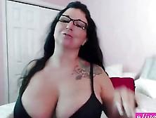 Italian Xxx Star Milf Megan Fux With 36Ddd Tits N Sexy Glasess A