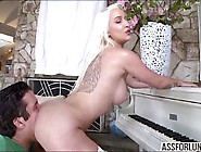 Skanky Dear Stevie Gets Pussy Hammered By A Gigantic Hard Dick
