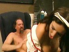 Stacked Nurse Taylor St Claire Getting Drilled Deep By A Hung Pa