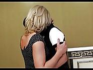 Mature Slim Woman & Young Lesbian