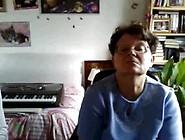 Grandma And Grandpa On Webcam