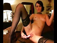 My Great Masturbation In My Stockings