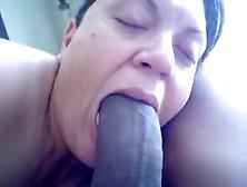 White Wife Giant Black Cock