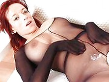 Hardcore Sex Plus Mindblowing Redhead In Nylons