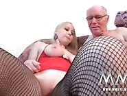 Blonde Whore Never Took Money From A Horny,  Old Guy Who Took Her