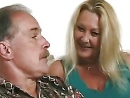 Mature Blonde Seduces Her Husband Into Fucking Her