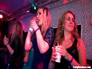 Girls In Slutty Dresses Dance At The Party