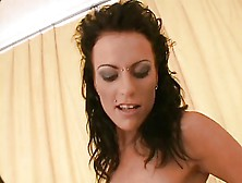 Anal Brunette Tramp Gets Boned
