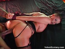 Hot Joslyn James Fucked And Tied By A Black Cock Get Orgasms And