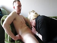 Uk Amateur Blonde Sucks Cock And Swallows