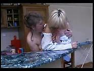 Mature Lesbian Fucks Younger Girl