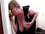 Mature Fat Aunt Takes In Her Mouth Huge Black Dick And Fucks