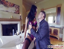 Anissa Kate Olivier Sanchez Blows Her Competition Out Of The Wat