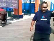 Crazy Crackhead Arrested For Public Strip