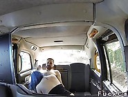 Couple Fucking In Empty Taxi