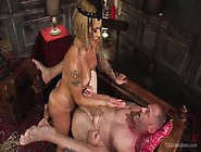 Submissive Hunk D.  Arclyte Gets Teased And Fucked By Tranny Ts F