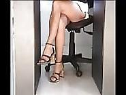 Open Legs Panty Peep