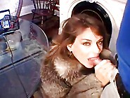 Amature Milf In Fur Sucks & Gets Fucked