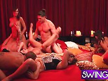 Swing - Season 5.  Episode 2.  - Group Orgy At Its Finest Using Do