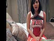 Stepteen Cheerleader Riding Taboo Cock