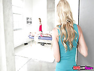 Blondes Alexis Fawx & Chloe Couture Sharing Sean Lawless In Fmf