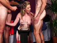 Wicked Hottie Gets Sperm Load On Her Face Eating All The Spu