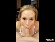 Gigantic Facial For Obedient Submissive Cocksucker