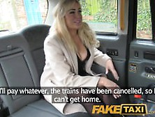 Faketaxi Back Seat Shagging And Surprise Creampie Pay For Taxi F