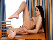 Outstanding Babe Monika Dimone Is Poking Her Anal Hole