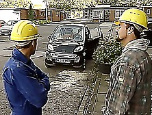 German Mom Fucked By Two Construction Workers