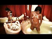 Hot Indian Babe Bathing And Touching Her Soft Body